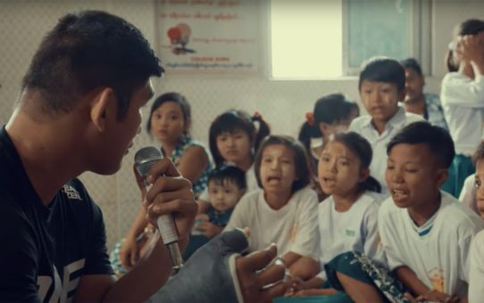 ONE & Global Citizen | Aung La N Sang Inspires Myanmar Youth Through Education