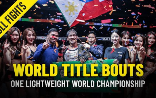 History Of The ONE Lightweight World Title | Part 2 | ONE Full Fights
