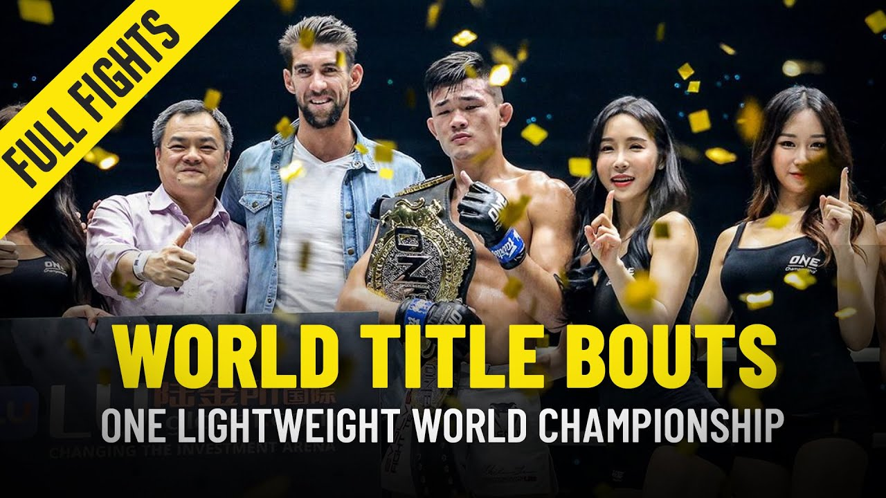 History Of The ONE Lightweight World Title | Part 3 | ONE Full Fights
