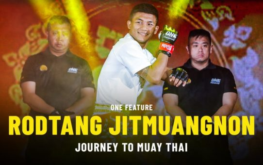 How Rodtang Found Muay Thai | ONE Feature