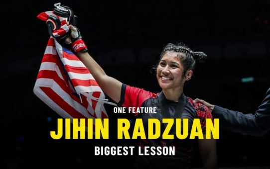 Jihin Radzuan's Biggest Lesson | ONE Feature