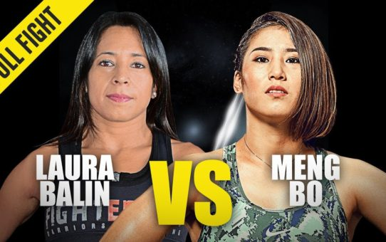 Laura Balin vs. Meng Bo | ONE Full Fight | November 2019