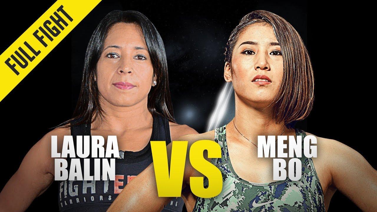 Laura Balin vs. Meng Bo   ONE Full Fight   November 2019