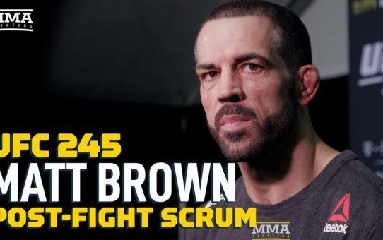 Matt Brown Wants Quick Turnaround at UFC Columbus Event – MMA Fighting