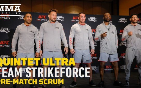 Quintet Ultra: Team Strikeforce Pre-Match Scrum – MMA Fighting