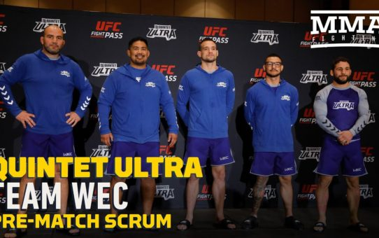 Quintet Ultra: Team WEC Pre-Match Scrum – MMA Fighting
