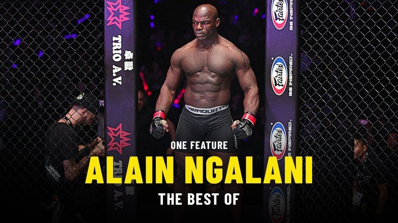 The Best Of Alain Ngalani   ONE Feature