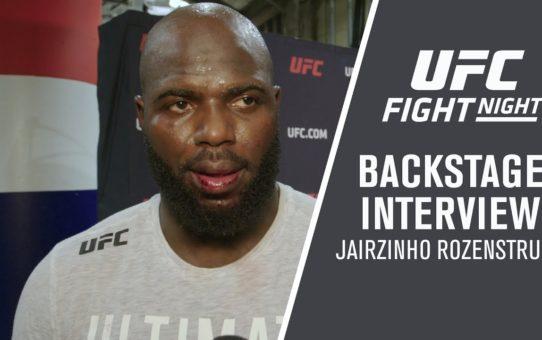 """UFC Washington DC: Jairzinho Rozenstruik – """"From here, I want to fight Francis Ngannou"""""""