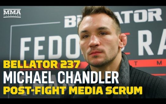 Bellator 237: Michael Chandler Isn't Dwelling on 155-Pound Title – MMA Fighting