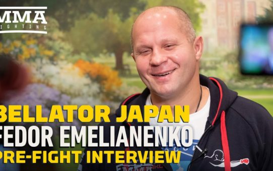 Bellator Japan: Fedor Emelianenko Not All In On 'Retirement Tour' – MMA Fighting