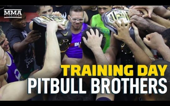 Training Day: Pitbull Brothers – MMA Fighting