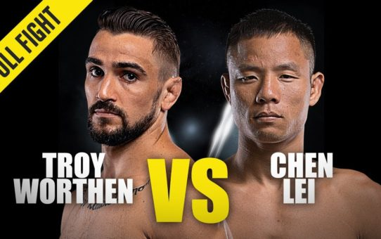 Troy Worthen vs. Chen Lei | ONE Full Fight | November 2019
