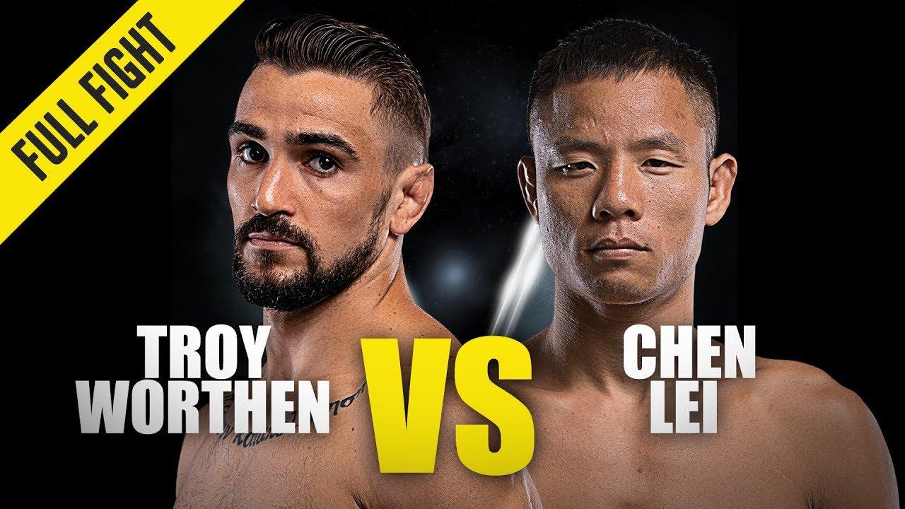 Troy Worthen vs. Chen Lei   ONE Full Fight   November 2019