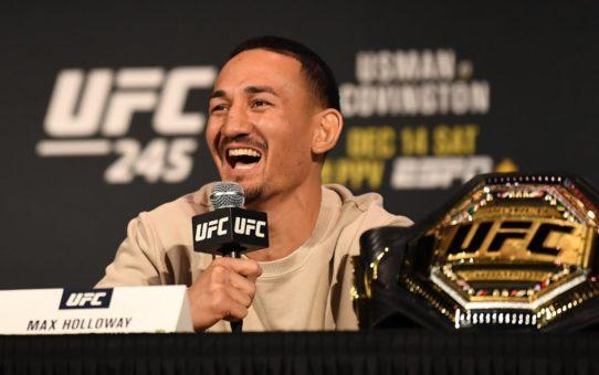 UFC 245 Athlete Panel