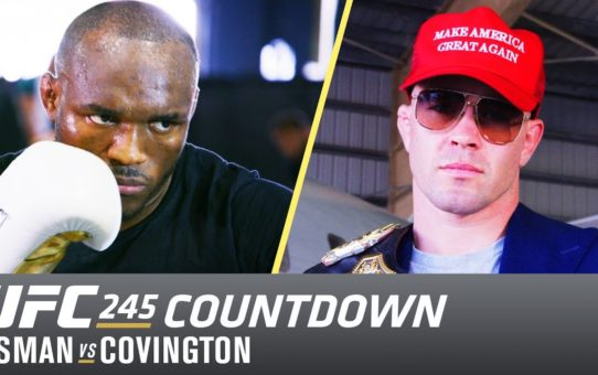 UFC 245 Countdown: Usman vs Covington