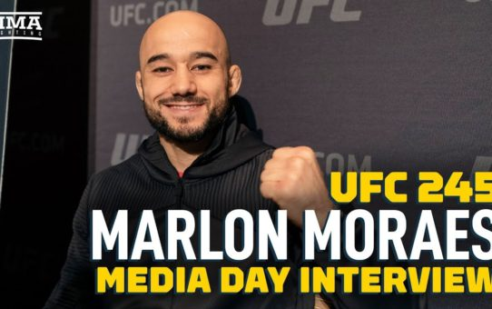 UFC 245: Marlon Moraes Not Worried About Jose Aldo's Weight – MMA Fighting