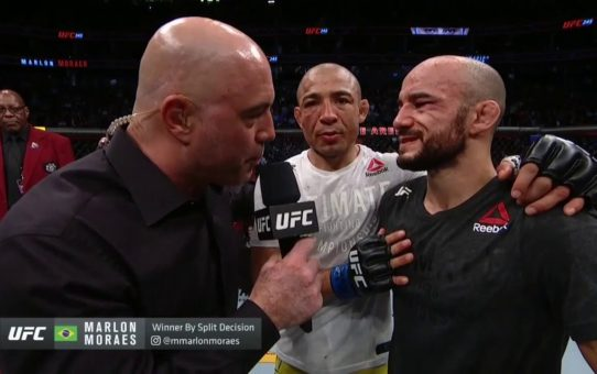 UFC 245: Marlon Moraes Octagon Interview
