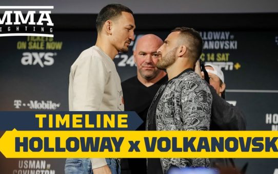 UFC 245 Timeline: Max Holloway vs. Alexander Volkanovski – MMA Fighting