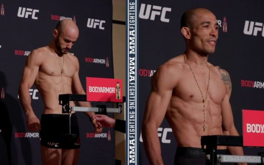 UFC 245 Weigh-Ins: Marlon Moraes, Jose Aldo Make Weight – MMA Fighting
