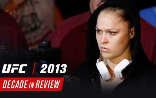 UFC Decade in Review – 2013