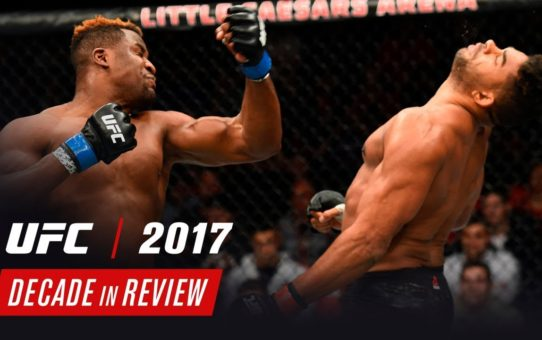 UFC Decade in Review – 2017