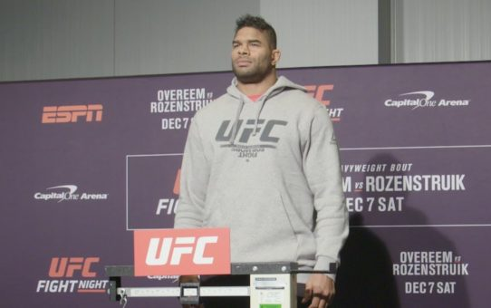 UFC Washington DC: Weigh-in