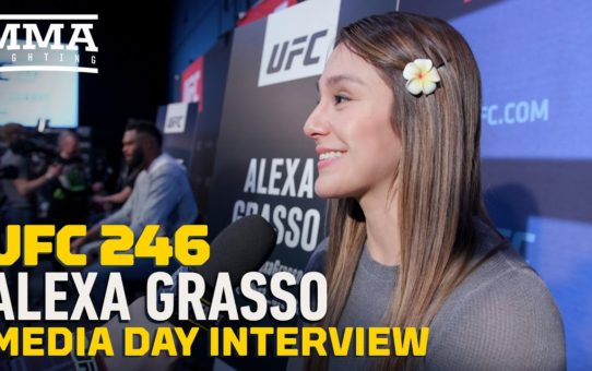 UFC 246: Alexa Grasso Expecting To Face 'Best Version' Of Claudia Gadelha – MMA Fighting