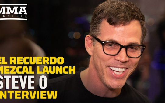 Steve-O Makes UFC 246 Predictions at Jorge Masvidal's El Recuerdo Mezcal Launch – MMA Fighting