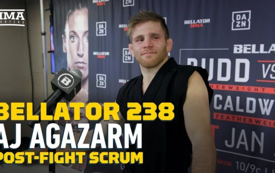 Bellator 238: AJ Agazarm Says He Finished Opponent With 'Agazarm' Submission – MMA Fighting