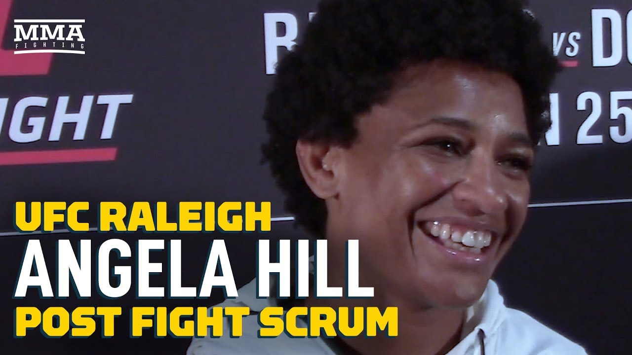 UFC Raleigh: Angela Hill Plans To Say 'Yes' To Every Fight Offer In 2020 - MMA Fighting