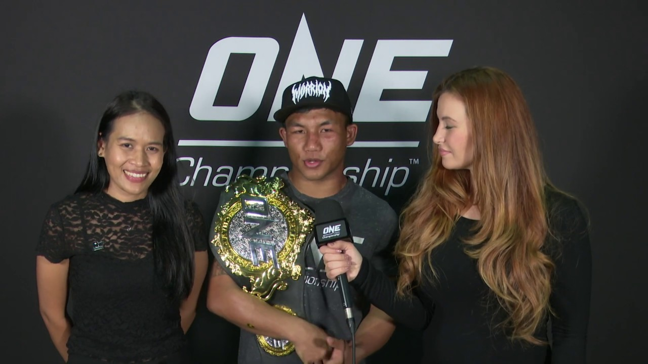Backstage With Rodtang & Miesha Tate | ONE: A NEW TOMORROW Interview