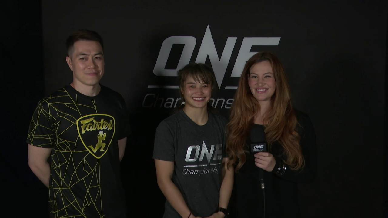 Backstage With Stamp Fairtex & Miesha Tate   ONE: A NEW TOMORROW Interview
