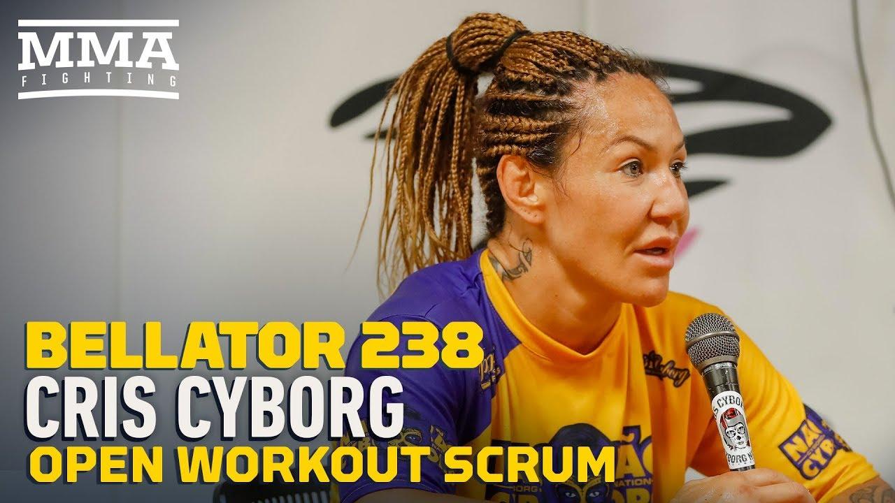 Bellator 238: Cris Cyborg Pre-Fight Media Scrum - MMA Fighting