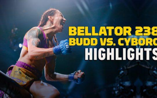 Bellator 238 Highlights: Cris Cyborg Knocks Out Julia Budd – MMA Fighting