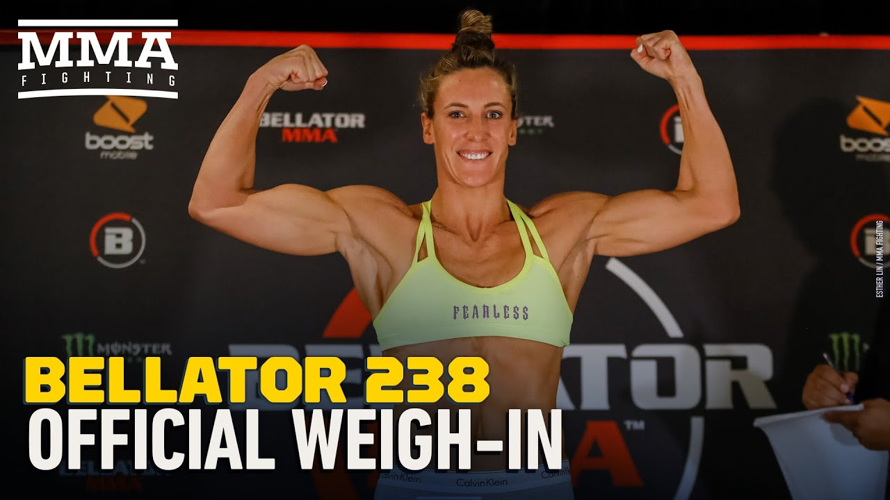 Bellator 238 Official Weigh-In Highlights - MMA Fighting