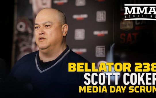 Bellator 238: Scott Coker Media Day Scrum Video – MMA Fighting