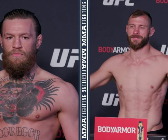 UFC 246 Weigh-Ins: Conor McGregor, Donald Cerrone Make Weight  – MMA Fighting