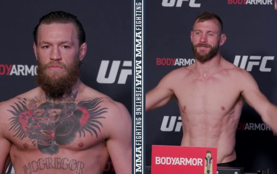 UFC 246 Weigh-Ins: Conor McGregor, Donald Cerrone Make Weight  – MMA Fighting