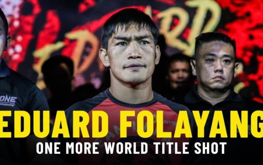 Can Eduard Folayang Become ONE World Champion Again?