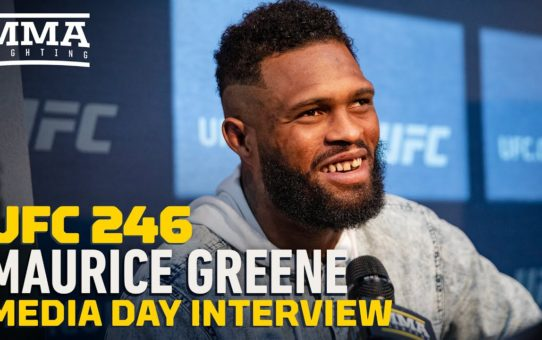 UFC 246: Maurice Greene Wants To Make 'Crocheting Cool Again' With Win Over Aleksei Oleinik
