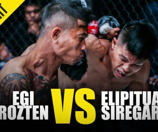 Egi Rozten vs. Elipitua Siregar | ONE Full Fight | October 2019