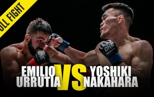 Emilio Urrutia vs. Yoshiki Nakahara | ONE Full Fight | February 2019