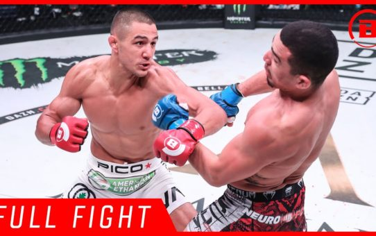 Full Fight | Aaron Pico vs. Leandro Higo – Bellator 206