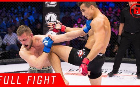Full Fight | Adam Borics vs. Teodor Nikolov – Bellator 196