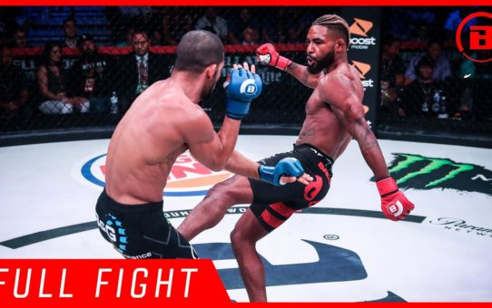 Full Fight | Darrion Caldwell vs. Noad Lahat – Bellator 204
