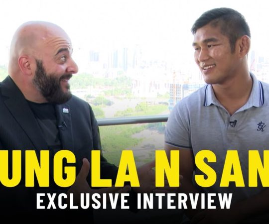 Aung La N Sang Breaks Down World Title Defenses   ONE Interview & Full Fights