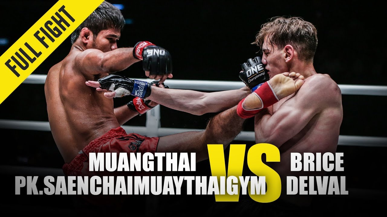 Muangthai Pk.Saenchaimuaythaigym vs. Brice Delval | ONE Full Fight | January 2020