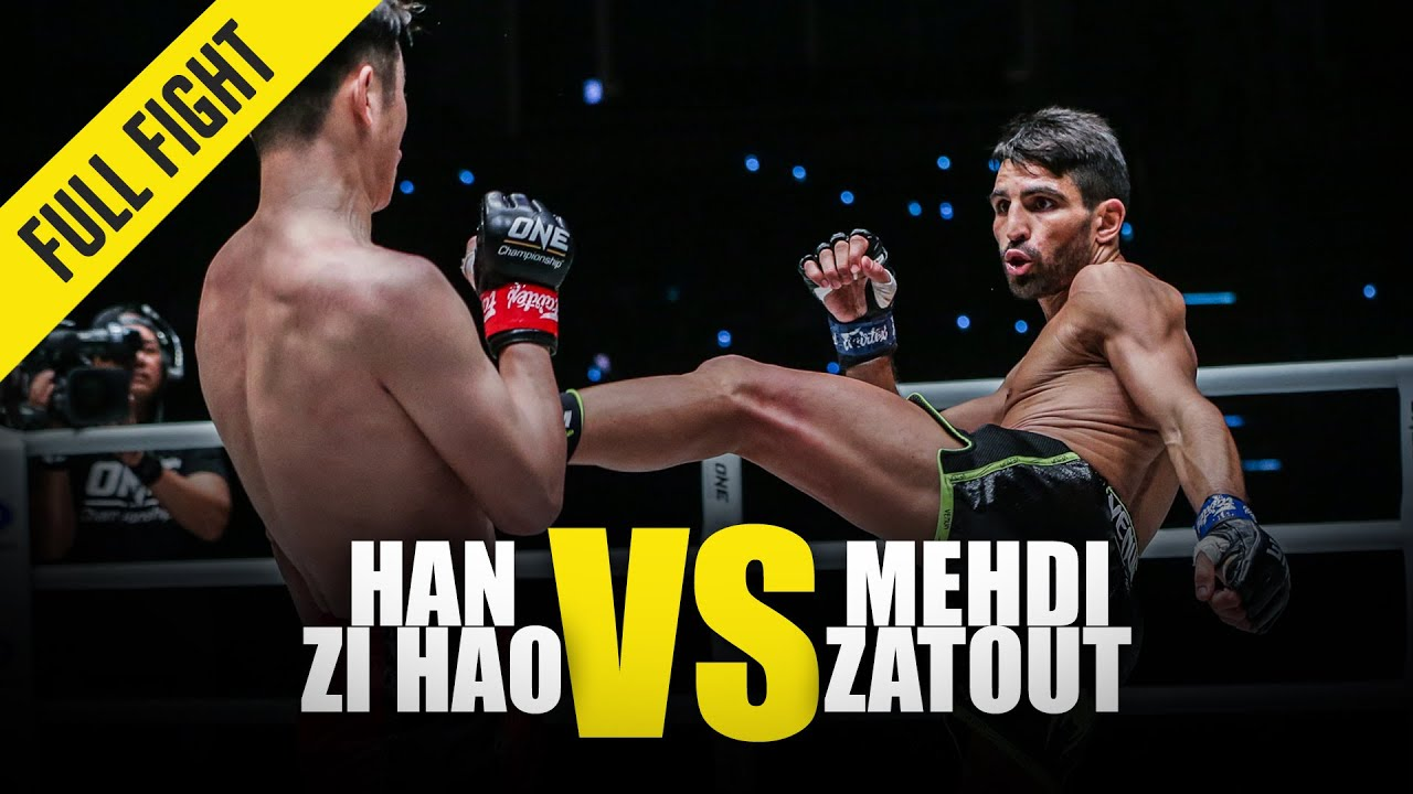 Han Zi Hao vs. Mehdi Zatout | ONE Full Fight | January 2020