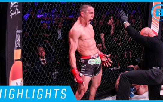 Highlights | Aaron Pico Finishes – #Bellator238