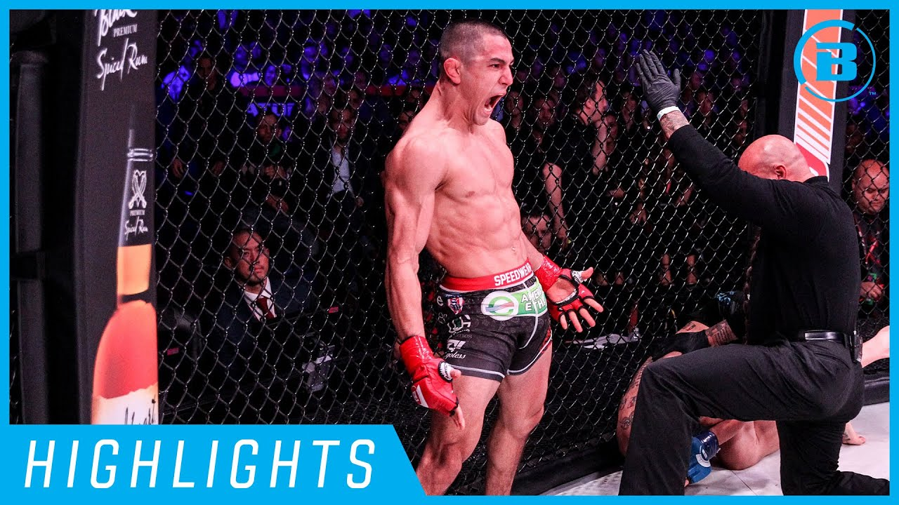 Highlights   Aaron Pico Finishes - #Bellator238